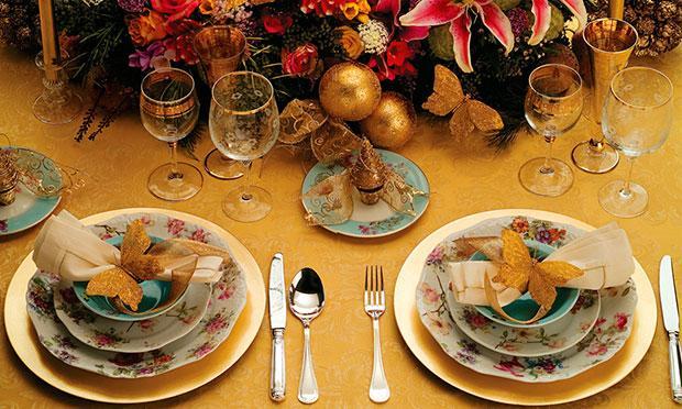 Ceia de Natal Simples # Decoração Ceia De Natal Simples