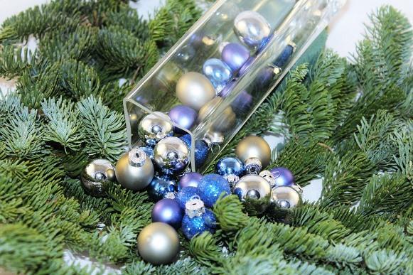 Bolas coloridas de natal. (Foto Ilustrativa)