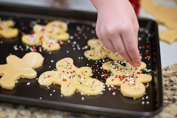 Biscoitinhos de natal. (Foto Ilustrativa)