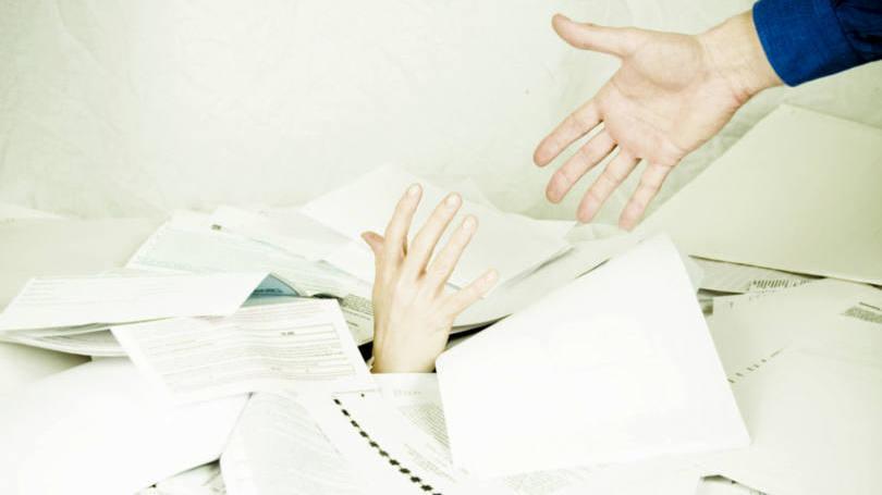 É preciso se organizar também para não atolar o funcionário (Foto: Exame/Abril)
