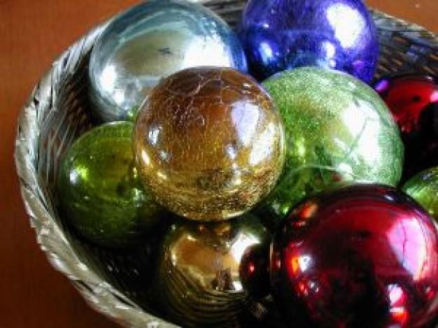 Bolas de natal para a mesa (Foto: Divulgação)