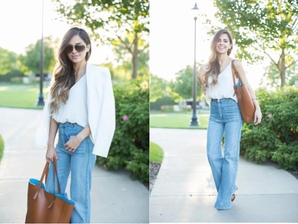 O corpo ampulheta combina praticamente com todo tipo de jeans. (Foto Ilustrativa)