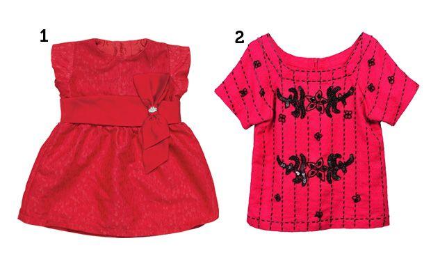 Roupas rosa para crianças (Foto: Mdemulher)