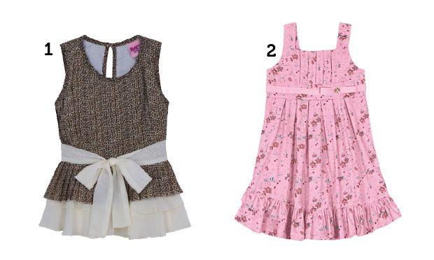 Vestido sempre é uma boa opção para as meninas (Foto: Mdemulher)