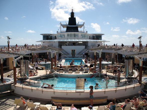 É possível curtir cada cantinho no navio (Foto: Divulgação)