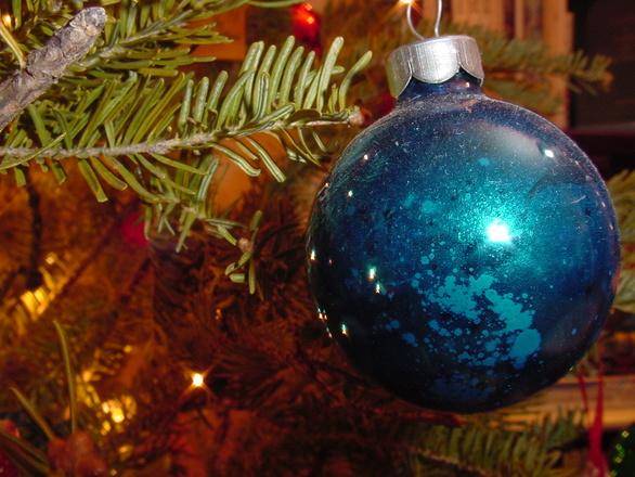 Tradicionais bolas de natal (Foto: Divulgação)