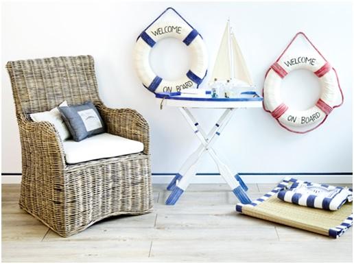 Seja irreverente na decoração da sua casa de praia (Foto: Westwing)