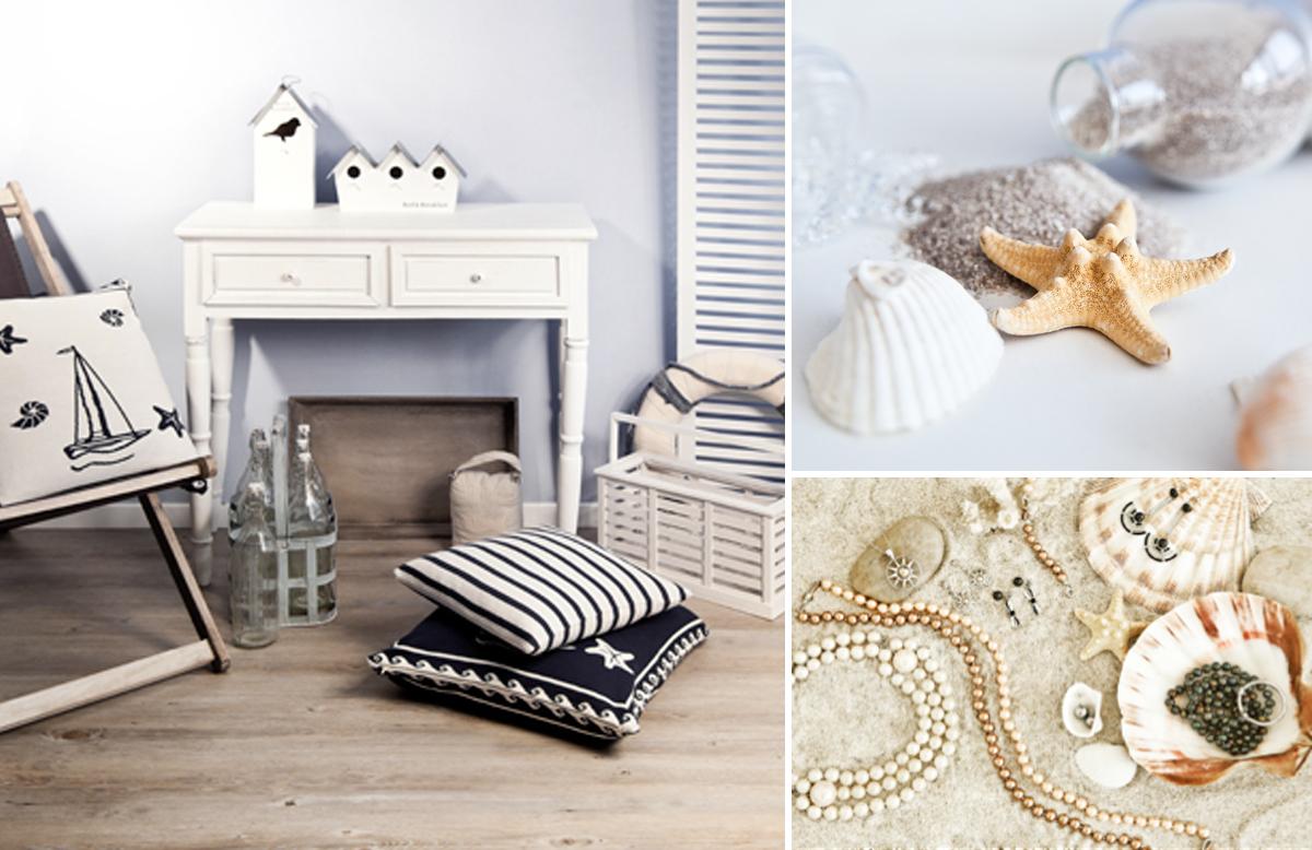 Mistures os elementos com sutileza e tenha uma decoração linda e para a sua casa de praia (Foto: Westwing)