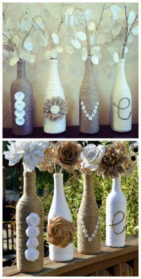 Mais garrafas para decorar a sua casa nesse Natal (Foto: Casa Abril)