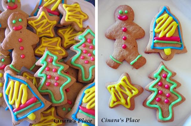 Biscoutos decorados podem ser uma opção linda para a decoração do seu Natal (Foto: Casa Abril)