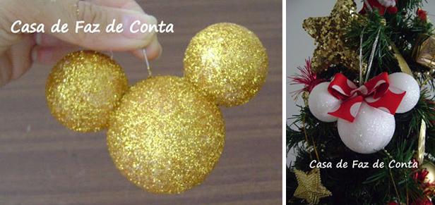 Bolas de isopor decoradas (Foto: Casa Abril)