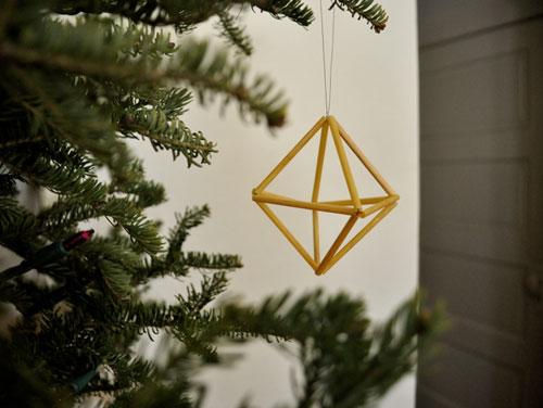 Coisa mais linda e diferenciada para a árvore de Natal (Foto: Casa Abril)