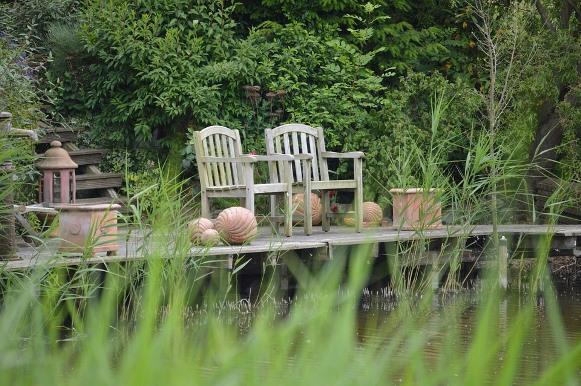 ideias de jardins lindos:Aposte em móveis aconchegantes e bonitos. (Foto Ilustrativa)