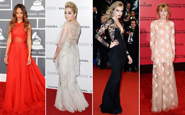 O vestido longo para quem gosta de ser clássico (Foto: Site Abril)