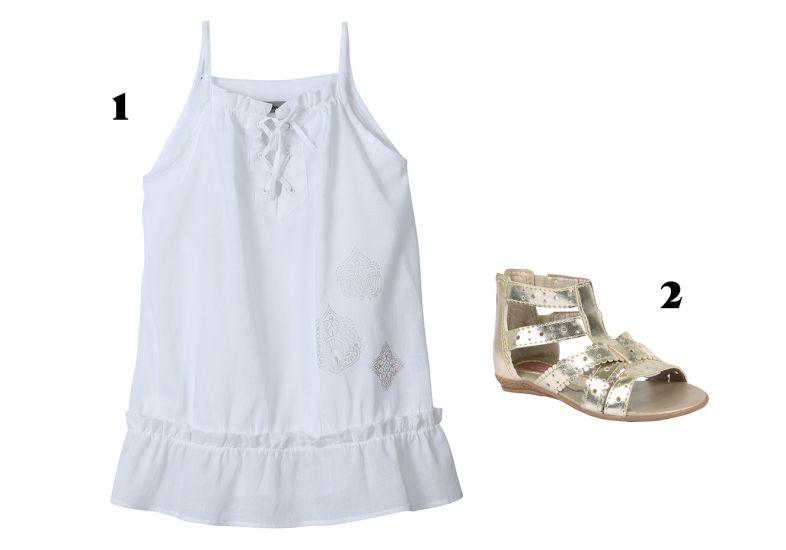 Vestido branco (Foto: MdeMulher)