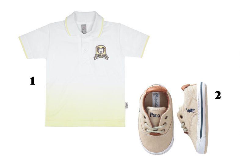 Camisas lindas e sapatos (Foto: MdeMulher)