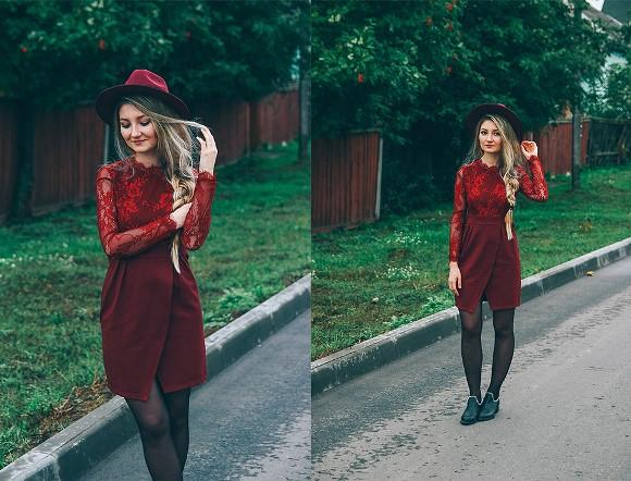 Vestido curto vermelho. (Foto Ilustrativa)