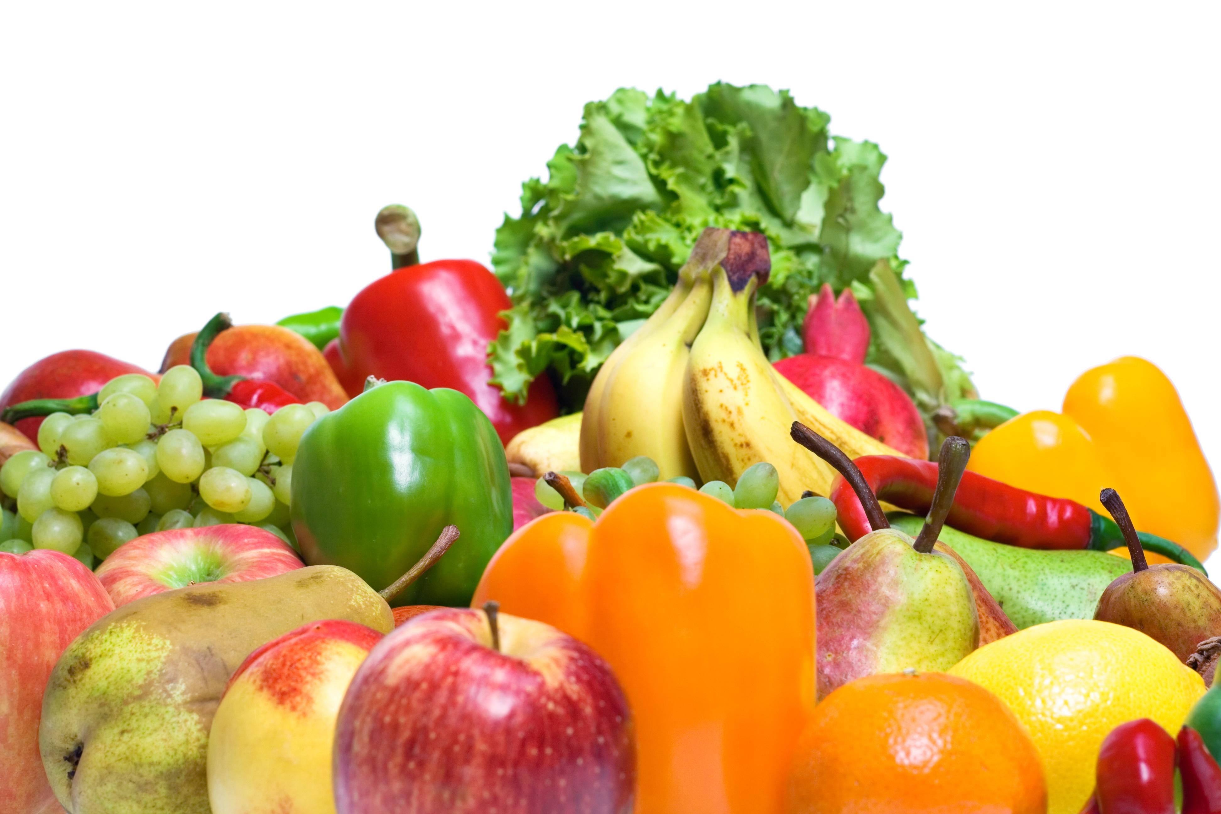 Comendo mais frutas e legumes (Foto: Divulgação)