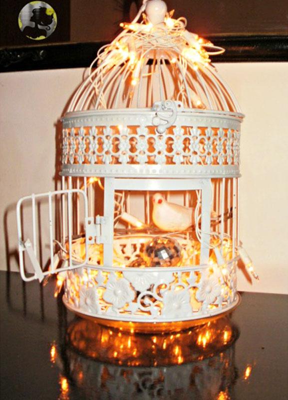 Veja como decorar uma linda gaiola (Foto: Casa Abril)