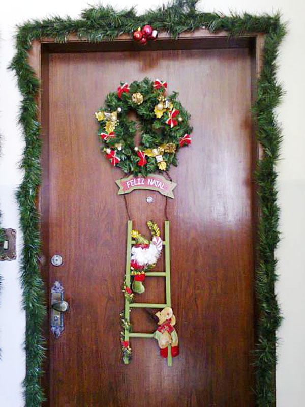 Guirlanda de Natal para enfeitar, confira (Foto: Casa Abril)