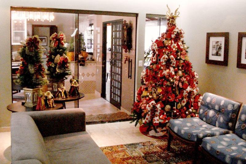 Árvore de Natal pode ser barata (Foto: Casa Abril)
