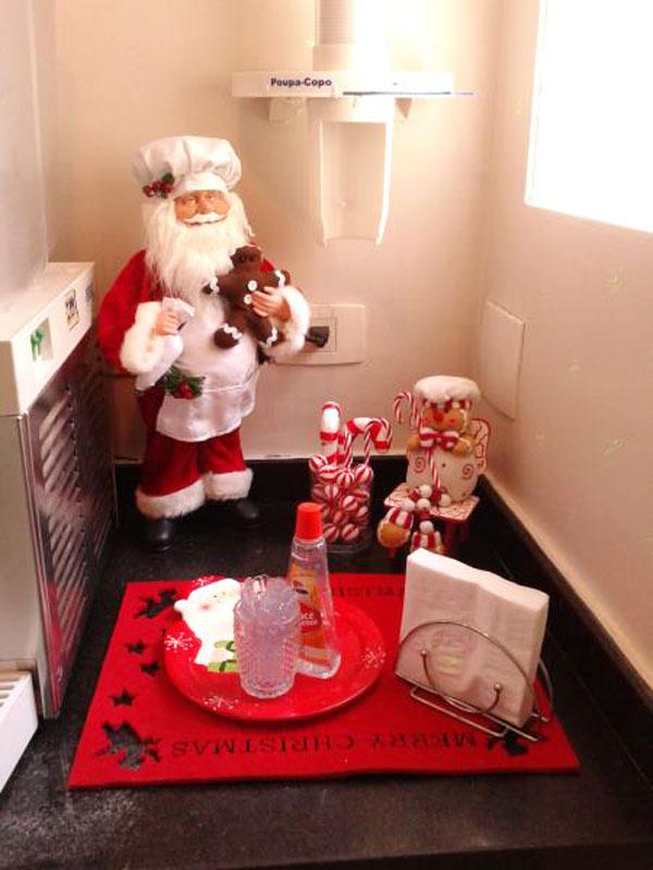 Papai Noel para enfeitar a sua árvore de Natal (Foto: Casa Abril)