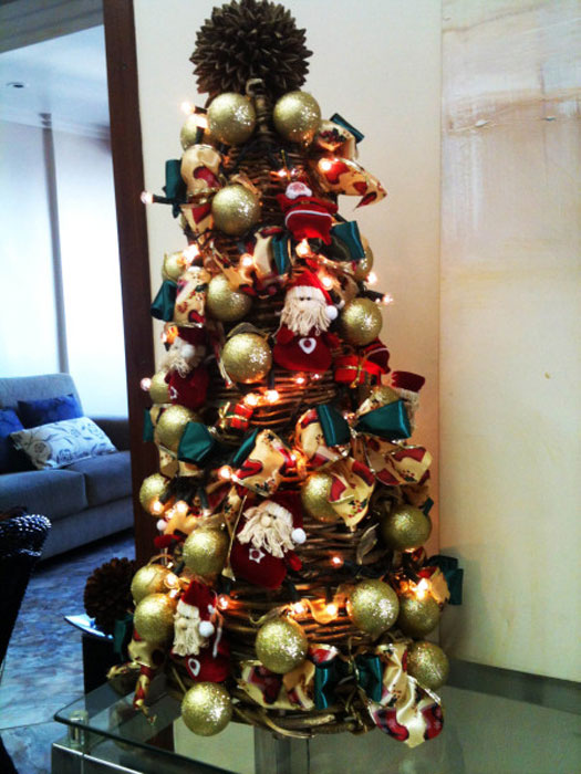 Use o pinheirinho de Natal na sua decoração (Foto: Divulgação)