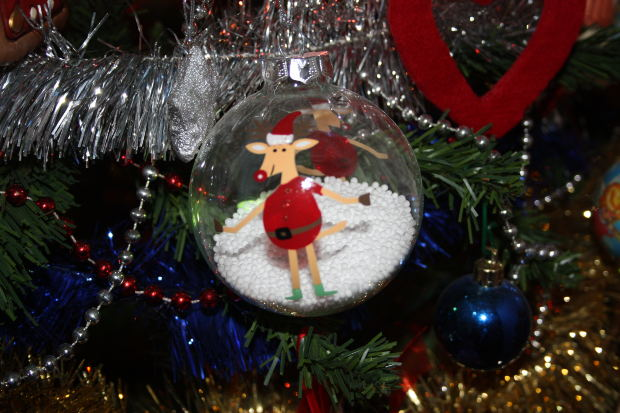 Enfeites para a árvore de natal (Foto: Divulgação)