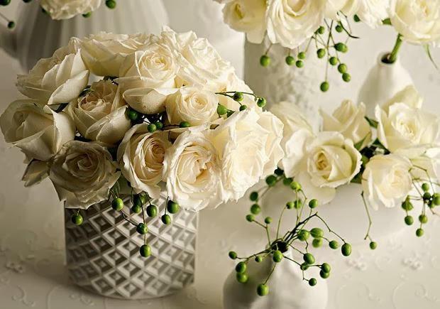 O branco é uma cor clássica que você pode usar sempre na decoração da festa de ano novo (Foto: Divulgação)