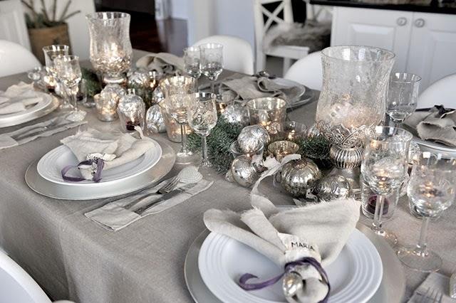 Itens da cor prata e de prata também ficam bonitos na noite de réveillon (Foto: Divulgação)