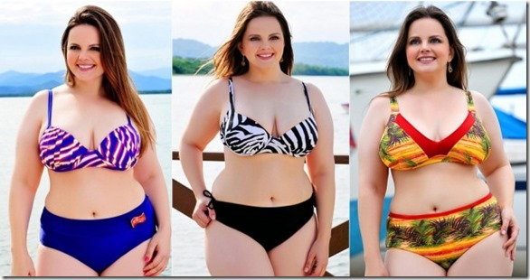 Estilo para quem está acima do peso (Foto: Site Abril)