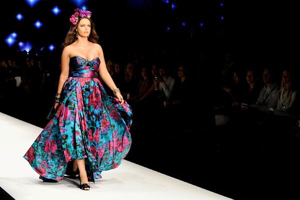 Na passarela a moda plus size ganha espaço (Foto: M de Mulher/Site Abril)