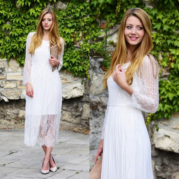 Modelos de vestidos brancos para Réveillon 2016