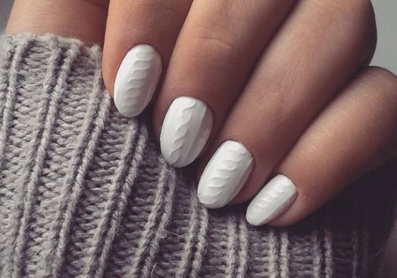 Nail Arte de Tricô: tendência em unhas decoradas