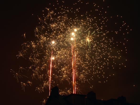 Toneladas de fogos são usadas no dia da virada da ano (Foto: Divulgação)