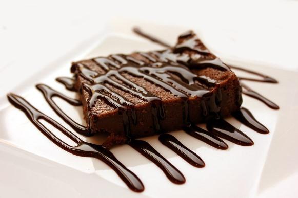 Bolo de chocolate sem lactose. (Foto Ilustrativa)