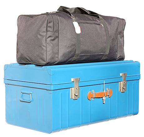 Cuide bem das suas malas e você pode até usar cadeados para proteger elas e seus pertences (Foto: Divulgação)