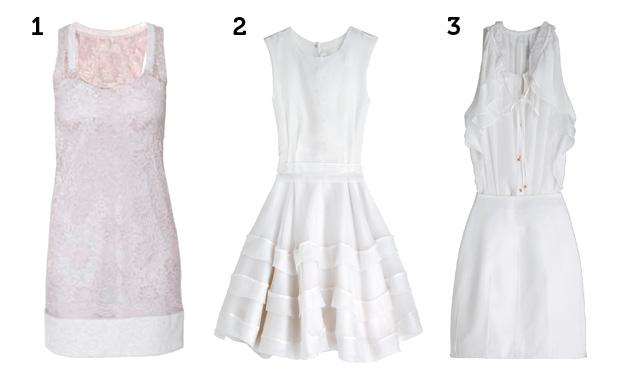 use lindos vestidos brancos (Foto: Mdemulher)