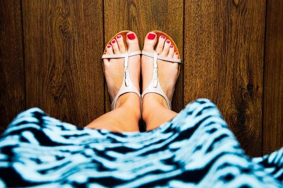 As rasteirinhas são confortáveis e perfeitas para o verão. (Foto Ilustrativa)