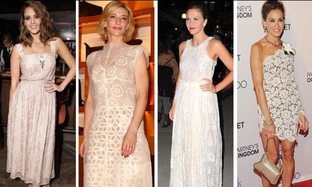 Para quem gosta de vestido mais chamativo e longo, porém elegante (Foto: Site Abril)