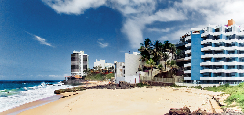 Com praias lindas, cidade recebe centenas de turistas todo o ano (Foto: Divulgação)
