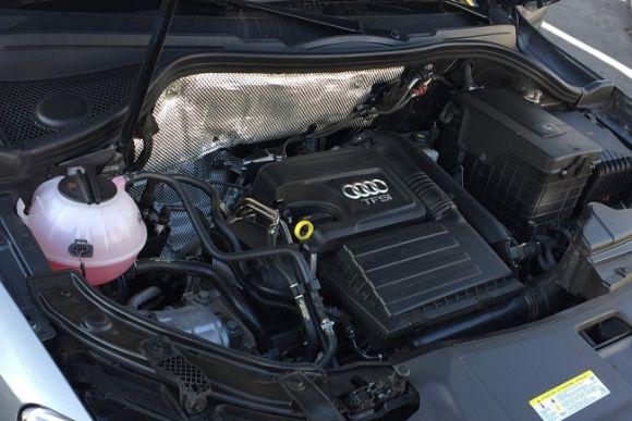 O motor 1.4 turbo rende 150 cavalos de potência (Foto: Divulgação Audi)