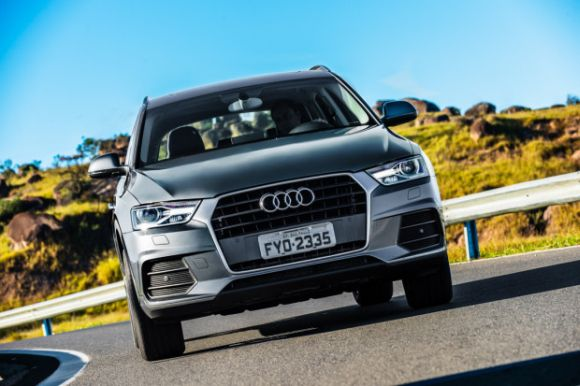 O Q3 também é encontrado nas versões com motor 2.0 turbo (Foto: Divulgação Audi)