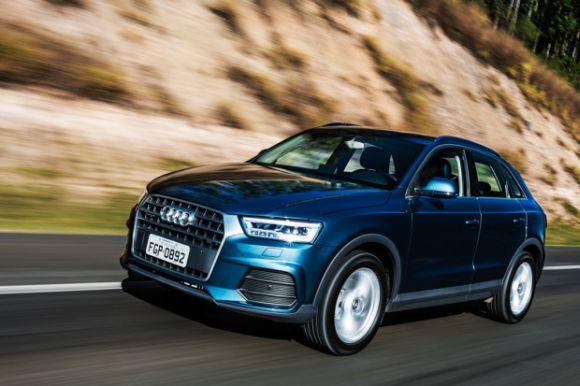 Os preços do Q3 1.4 turbo 2016 partem de R$ 127.190 (Foto: Divulgação Audi)
