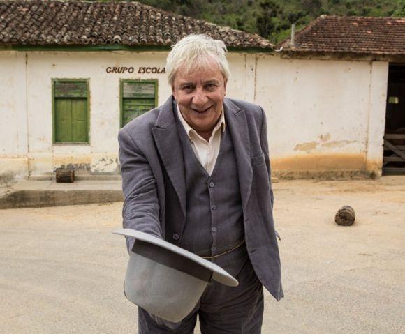 Marco Nanini está na nova novela da Globo (Foto: Reprodução Gshow)