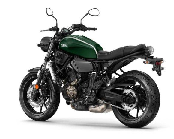 A XSR 700 tem como base a moto MT-07 (Foto: Divulgação Yamaha)