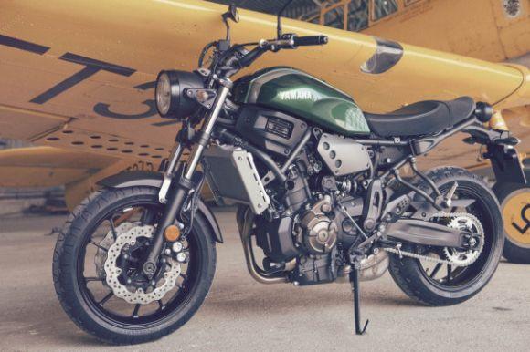 A Yamaha XSR700 estará disponível em duas versões (Foto: Divulgação Yamaha)