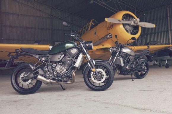Nova Yamaha XSR700 2016: fotos, preços
