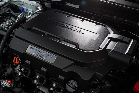 O motor V6 3.5 rende 280 cv de potência (Foto: Divulgação Honda)