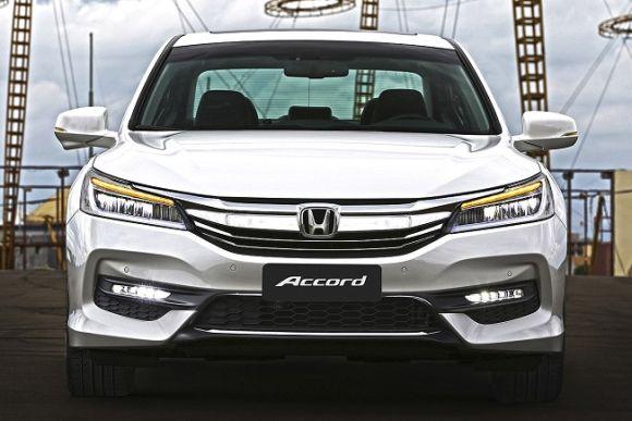 As vendas do Accord 2016 estão previstas para começar em janeiro (Foto: Divulgação Honda)
